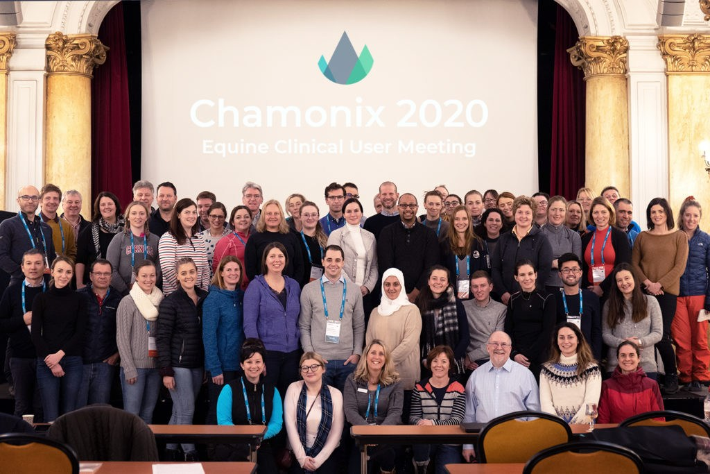 Hallmarq 12th equine clinical user meeting in Chamonix!
