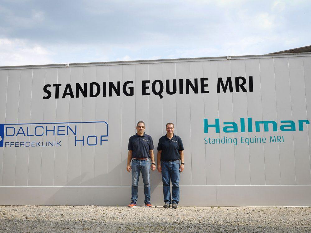 Hallmarq Standing Equine MRI Modular Room, Netherlands.